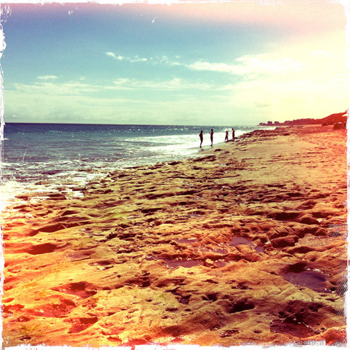 jupiter beach florida sand sun ocean hipsta iphone