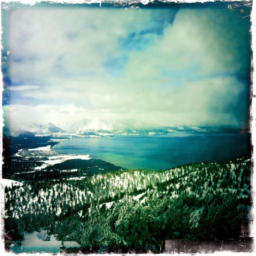 lake tahoe heavenly landscape hipsta iphone